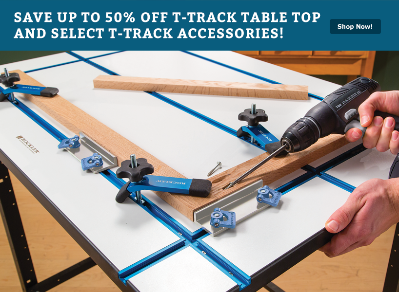 Rockler T-Track Table Top
